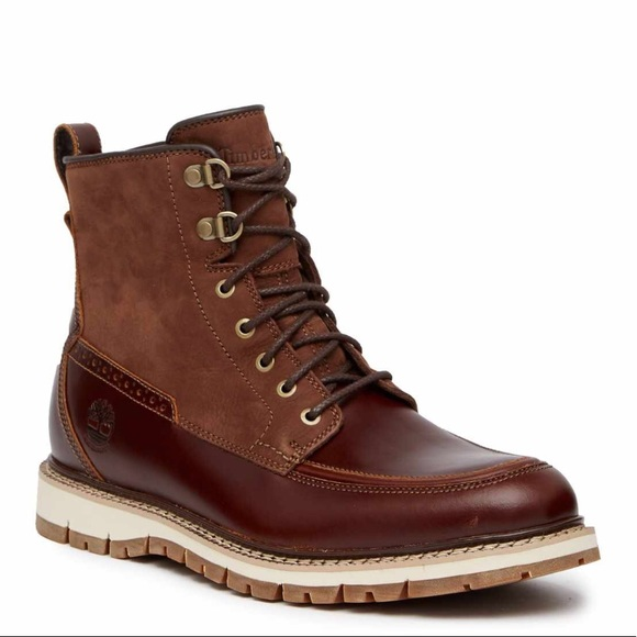 TIMBERLAND MEN'S BRITTON HILL MOC TOE WP BOOTS Boutique